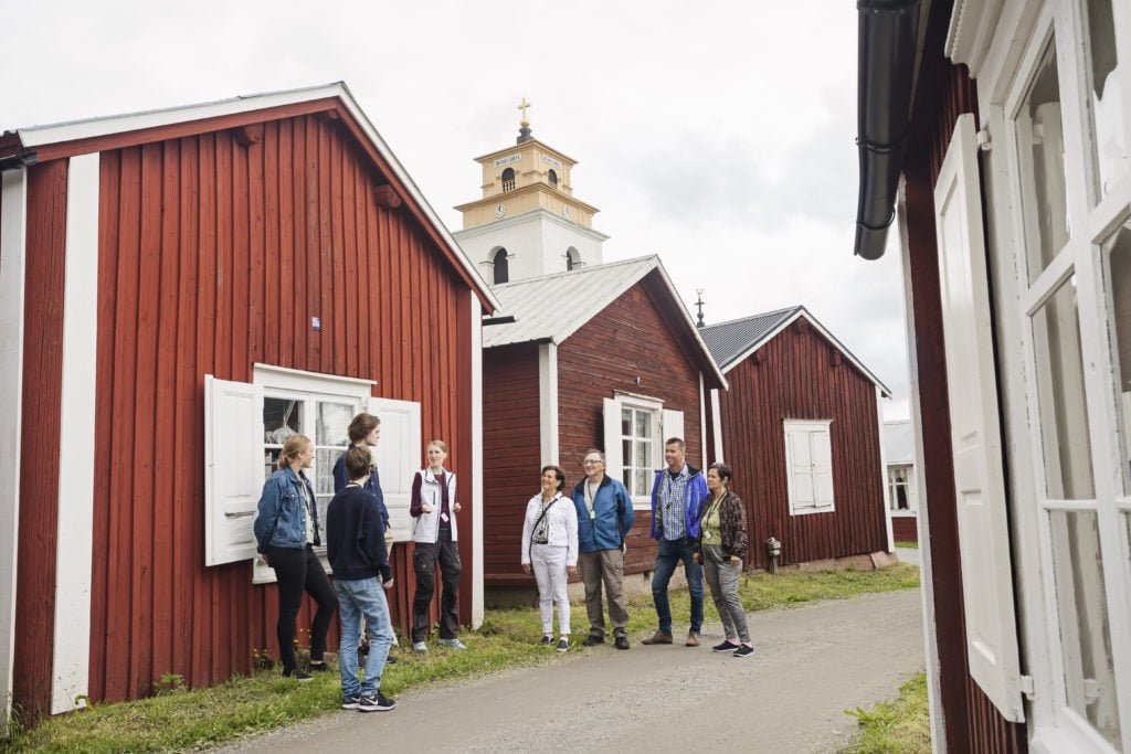 Guided tour in Gammelstad Church Town