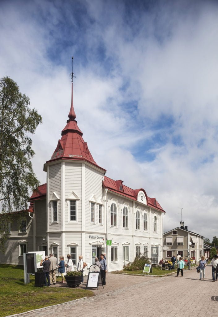 Visitor Centre in Gammelstad Church Town
