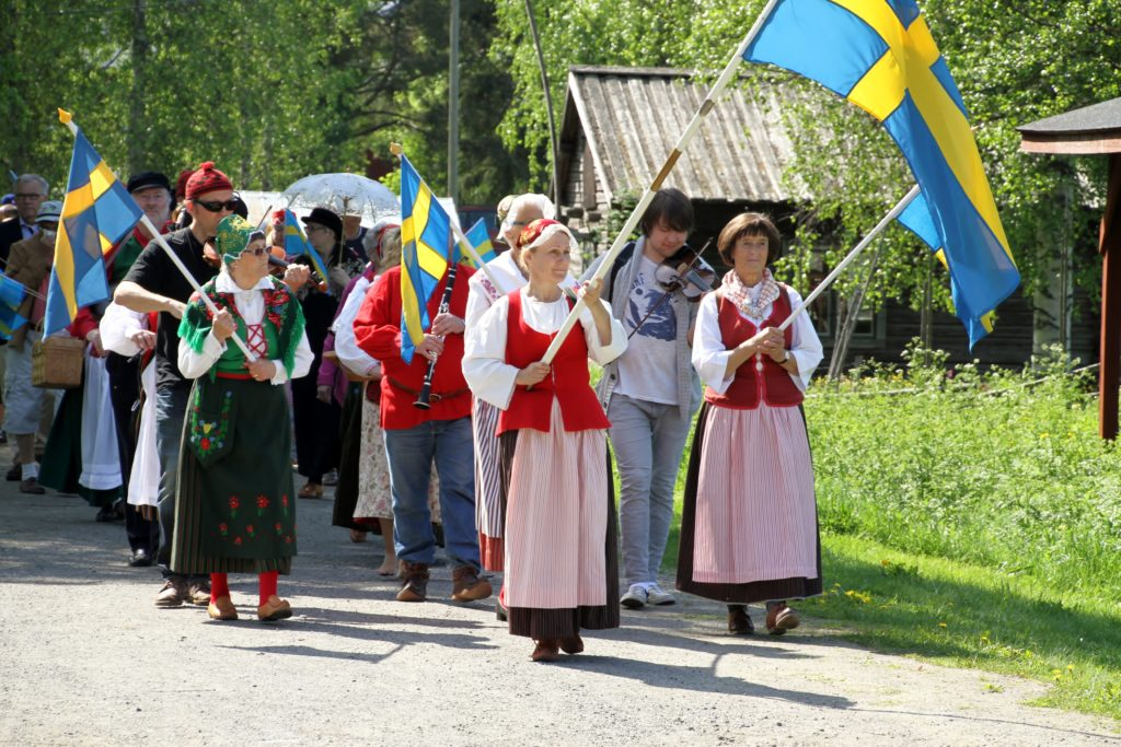 National Day of Sweden at open-air museum Hägnan