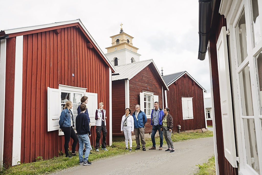 Guided tour in Gammelstad